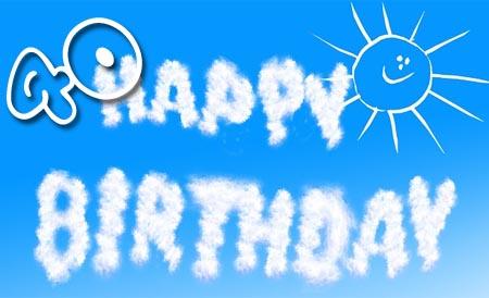 Lustige Geburtstagsgrüße zum 40. Geburtstag