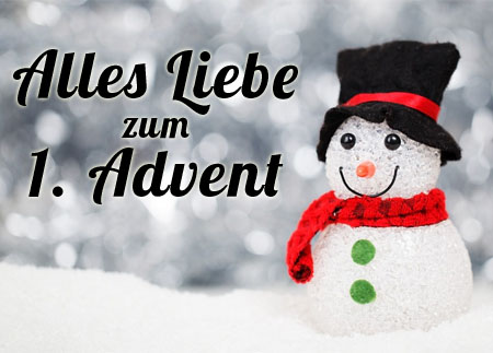 WhatsApp Adventsgrüße