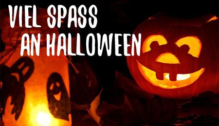 Viel Spaß zu Halloween