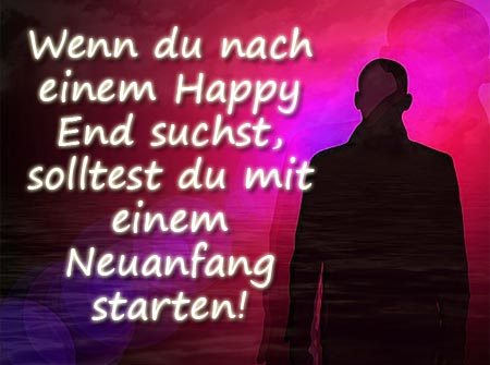 Ein neuer Start ist der erste Schritt zu einem Happy End
