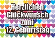 12. Geburtstag Spr�che