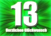 13. Geburtstag Spr�che