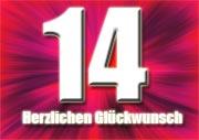14.Geburtstag Spr�che