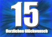 15. Geburtstag Sprüche
