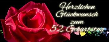 52. Geburtstag Spr�che