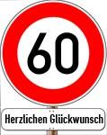 60. Geburtstag Spr�che