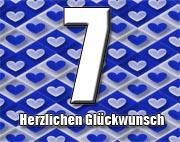 7. Geburtstag Sprüche