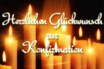 Konfirmation Gl�ckw�nsche