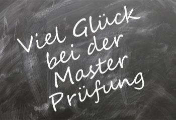 Master Pr�fung Gl�ckw�nsche