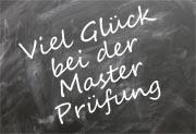 Pr�fungsw�nsche Master Abschluss