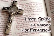 Spr�che zur heiligen Konfirmation